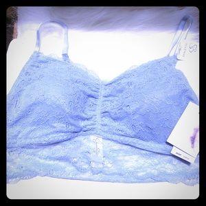 Jessica Simpson bralette M light blue